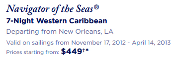 Cruise Discount - Navigator of the Seas® 7-Night Western Caribbean Departing from New Orleans, LA from $449