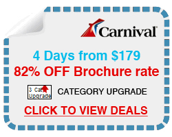 up to 82% off your next cruise plus free cabin upgrades on your next cruise