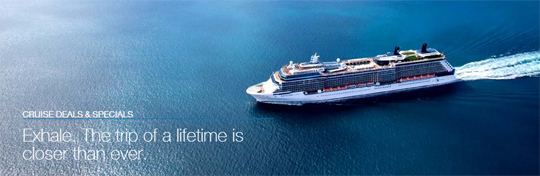 Celebrity cruise sale, save $1,000 your next cruise to Europe