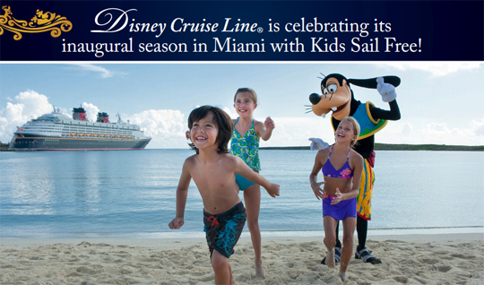 Kids Sail Free from Miami Cruise Discount