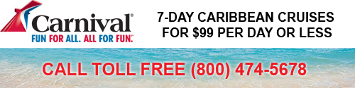Carnival $99 Per Day Cruises to the Caribbean