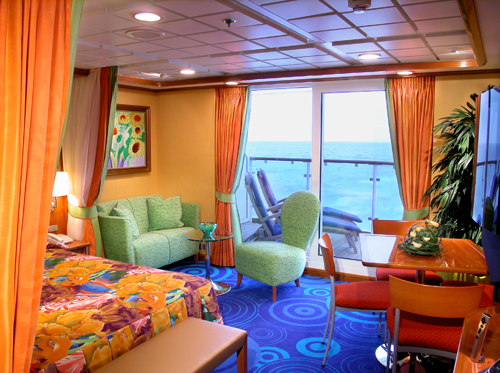 Suite Cabin On A Cruise Ship